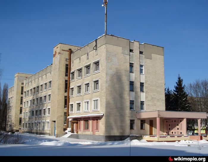 Отделение городской больницы 1