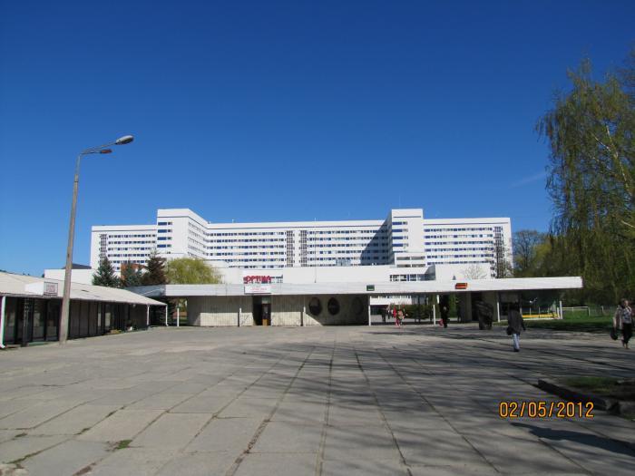 Детская больница г щёкино