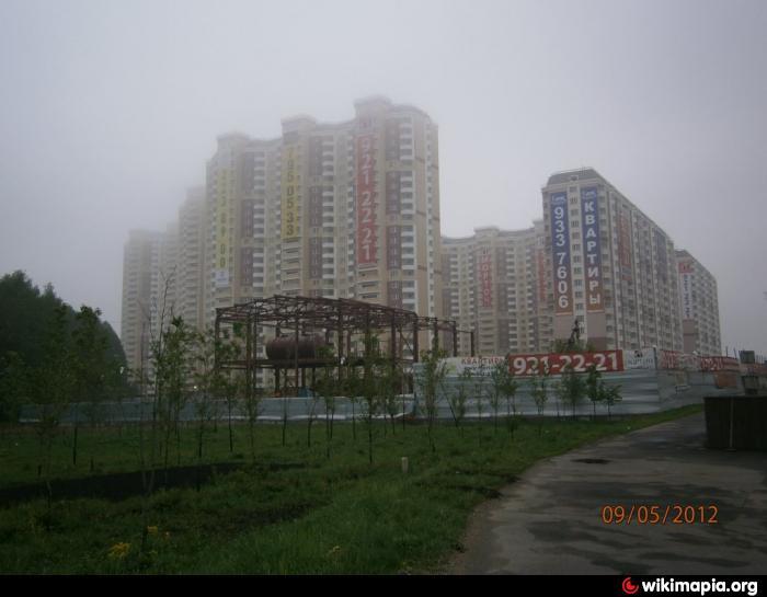 Микрорайон Бутово Парк – 1-я