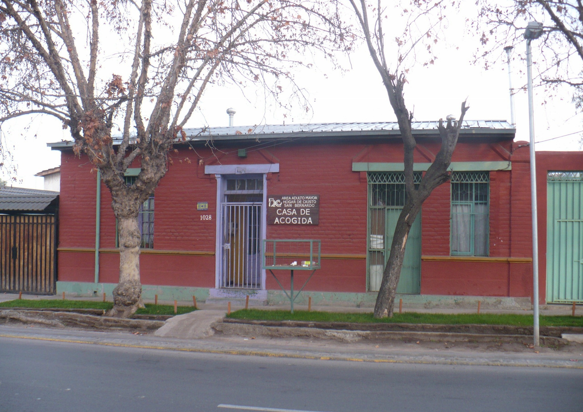Casa de acogida del hogar de cristo santiago de chile for Decoracion hogar santiago chile