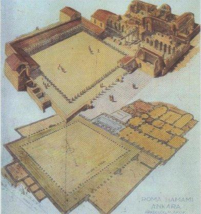 Roman Bath Open Museum - Ankara