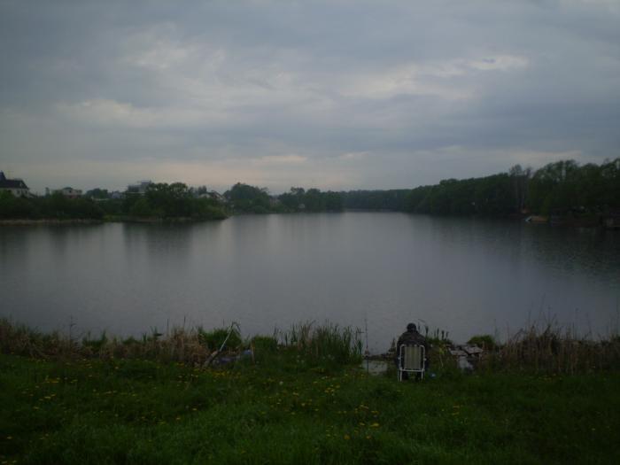 верхний знаменский пруд рыбалка