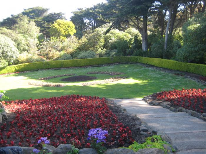 Queen Wilhelmina Tulip Garden San Francisco California