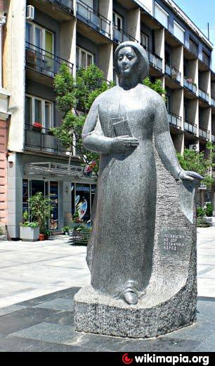 Spomenik Desanki Maksimovic Vaљevo