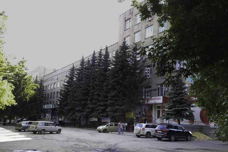 Торгово-офисный центр «Магистраль» в Туле