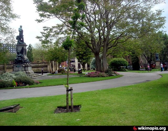 St. John\'s Gardens - Liverpool