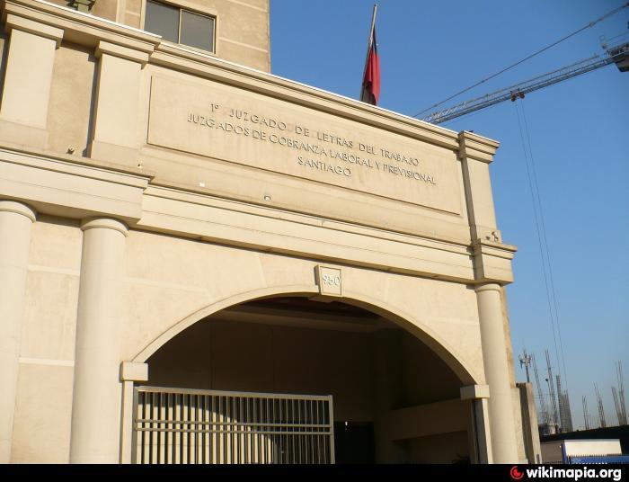 1 juzgado laboral de santiago santiago de chile for Juzgado de letras