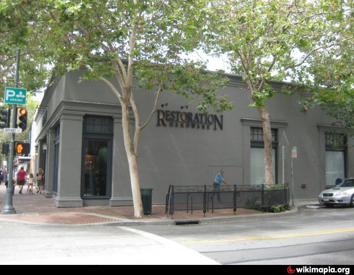 Restoration Hardware Palo Alto California