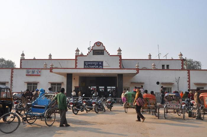 Sultanpur India  city images : Sultanpur Railway Station Sultanpur