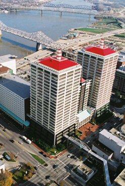Waterfront Plaza Louisville Jefferson County Kentucky