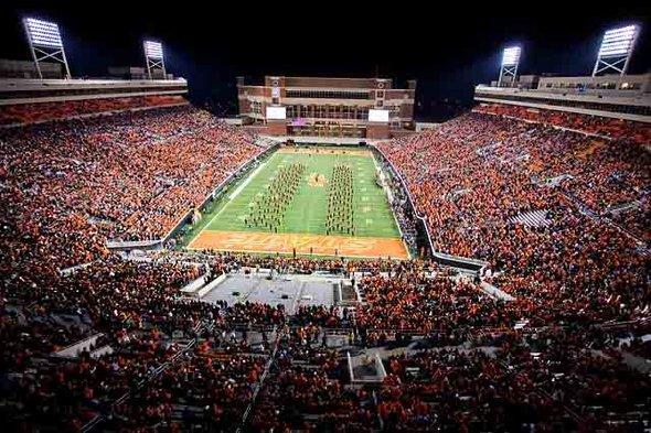 Boone Pickens Stadium (Lewis Field) - Stillwater, Oklahoma ...