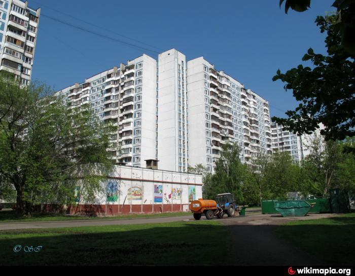 Многоквартирный жилой дом строение