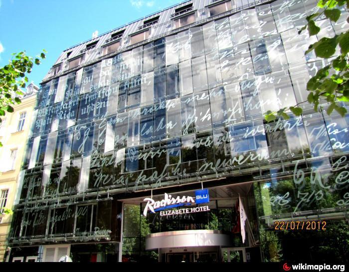 Radisson blu elizabete hotel riga riga for Radisson hotel