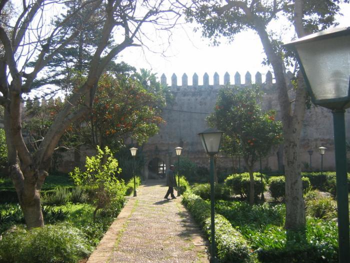 Jardins andalous des oudayas rabat for Jardin oudaya rabat