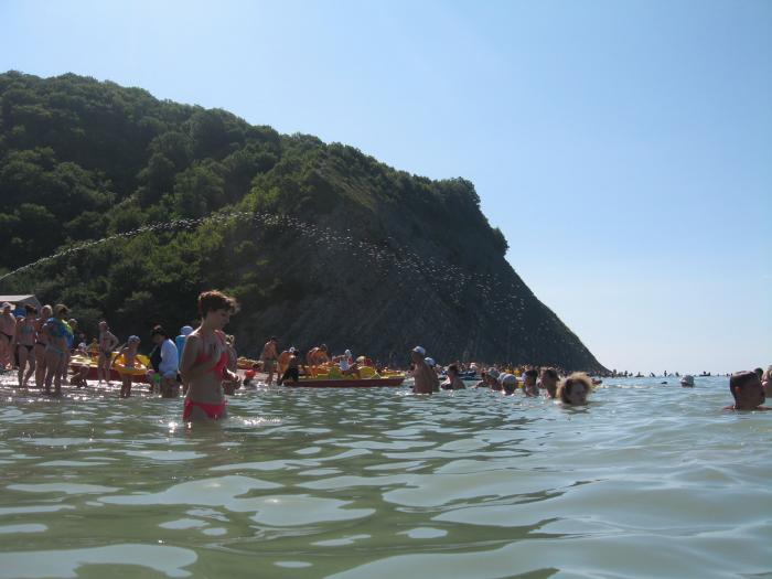 Все Пляжи курорта Джубга  Azurru