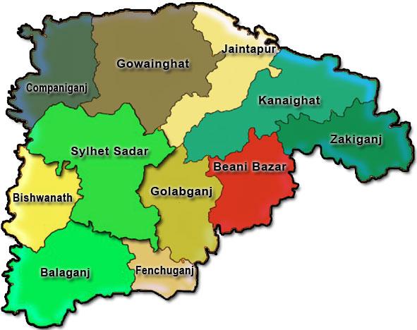 Bangladesh: Balaganj Upazila (Sylhet district, Bangladesh)
