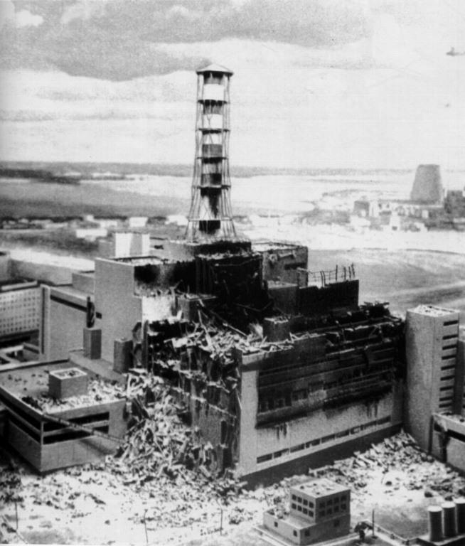 Через 20 лет после чернобыльской катастрофы 3800 человек все еще