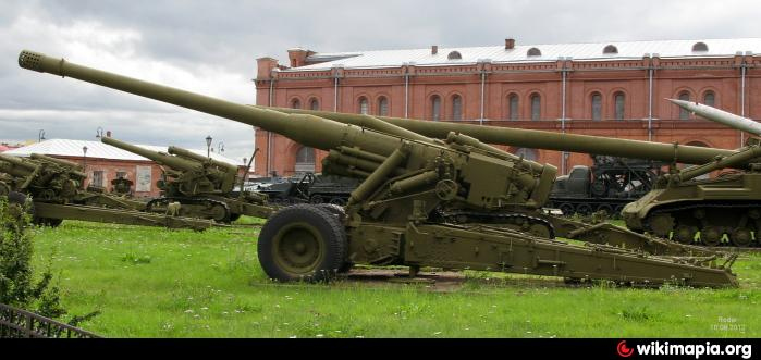 180-мм пушка С-23 - Санкт-Петербург