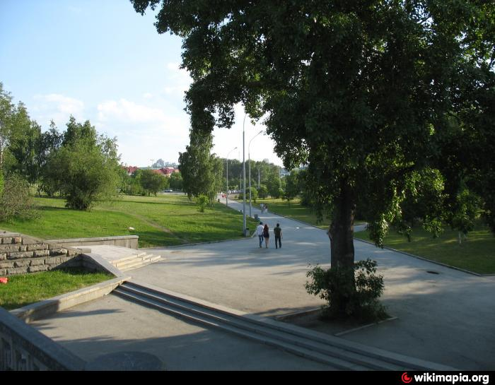 Сквер - Екатеринбург Исторический Сквер Екатеринбург