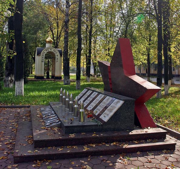 памятники в электростали фото