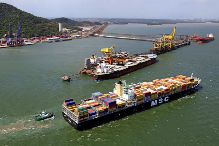 Resultado de imagem para porto  Itaguaí