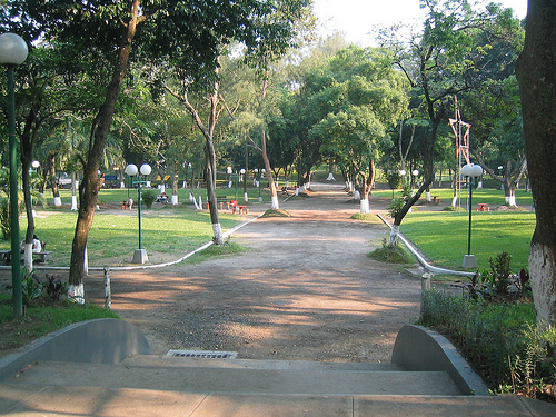Parque cuscatl n for Bungalows el jardin retalhuleu guatemala