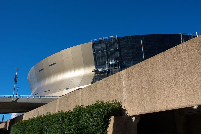 Mercedes benz superdome new orleans louisiana for Mercedes benz dome