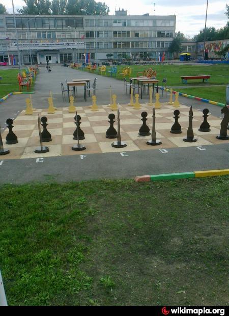 Площадка для игры в городки - a6309