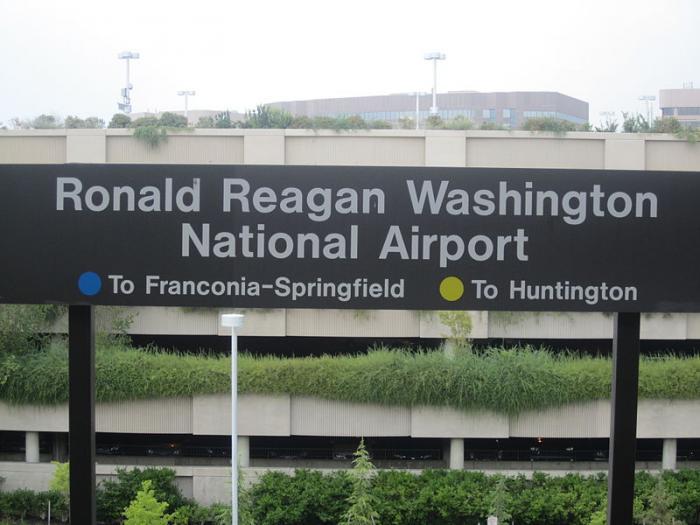 Aeroporto Washington : Aeroporto nacional washington ronald reagan