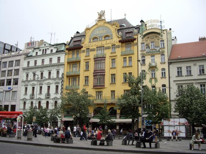 grand hotel europa prague jugendstil art nouveau architecture interesting place listed. Black Bedroom Furniture Sets. Home Design Ideas