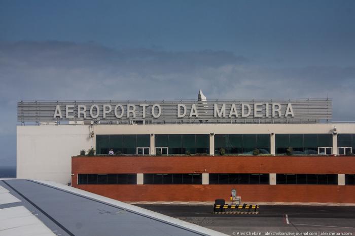 Aeroporto Madeira : Aeroporto internacional da madeira