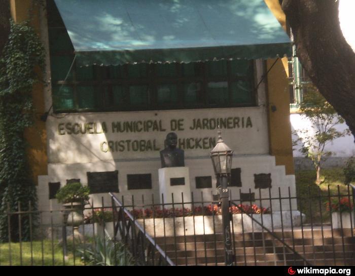 Escuela municipal de jardiner a crist bal m hicken for Escuela de jardineria