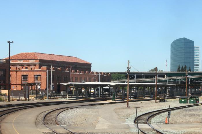 Sacramento Amtrak Station Sacramento California