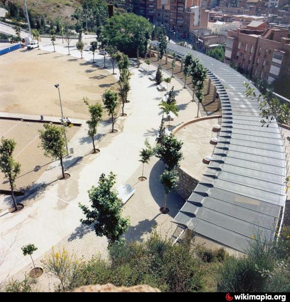 Parc de la creueta del coll barcelone for Piscina creueta del coll