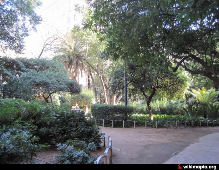 Jardins del palau robert barcelona espa ol - Jardins del palau ...