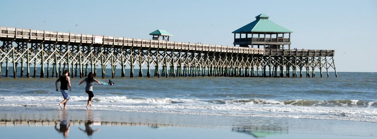 Folly beach fishing pier for Folly beach fishing