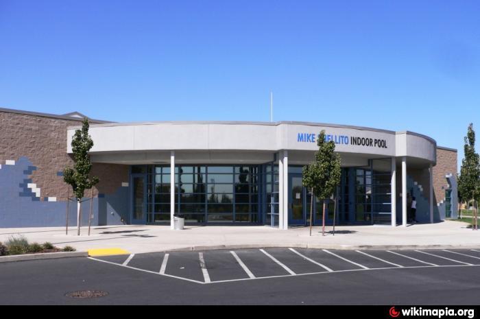 Mike Shellito Indoor Pool Roseville California