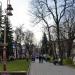Сквер в городе Ивано-Франковск