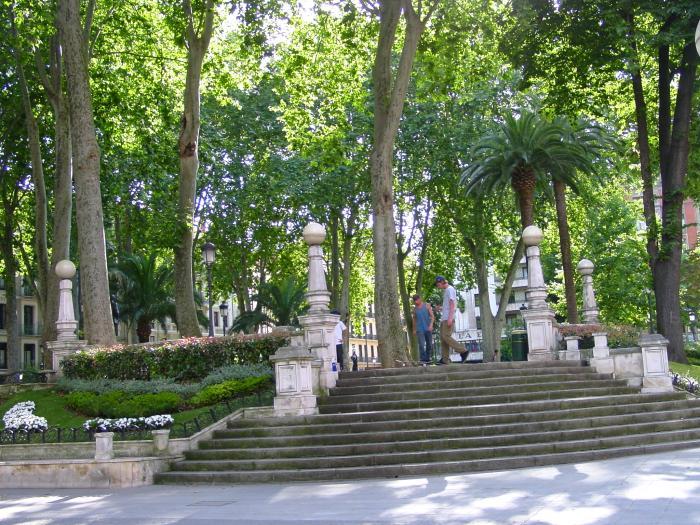 jardines albia bilbao