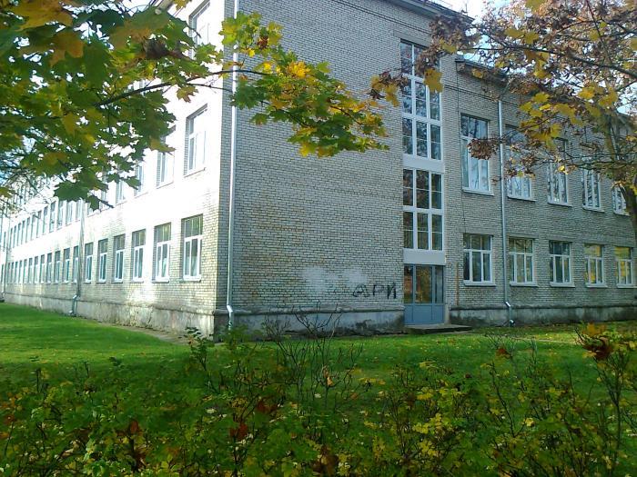 Бывшая школа номер 2 силламяэ