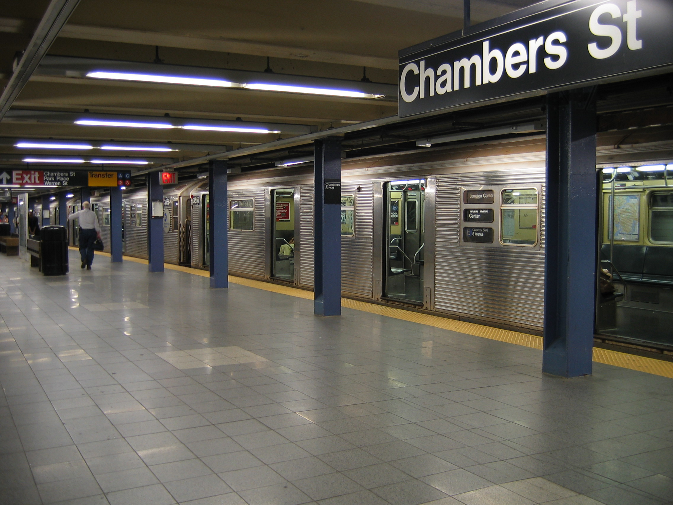 Subway system in New York