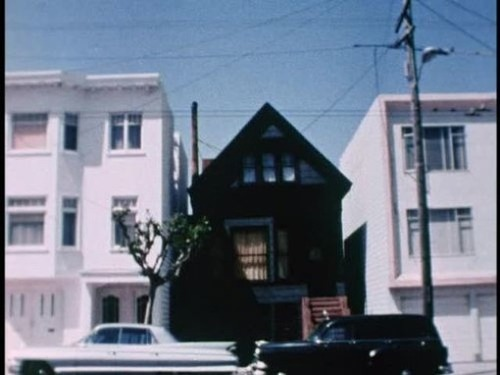 Black house san francisco california for Images of black houses