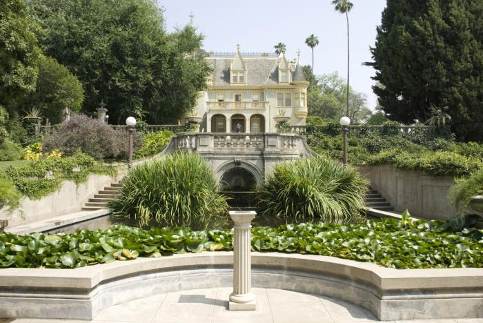 Kimberly Crest House Gardens Redlands California Museum Mansion Manor House Villa