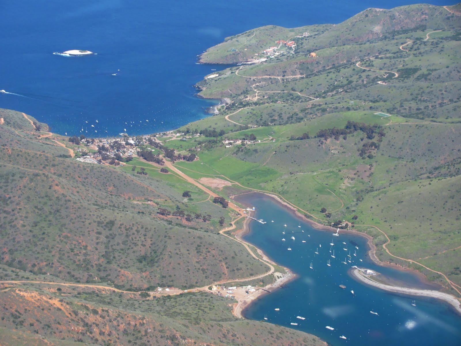 two harbors at santa catalina island isthmus