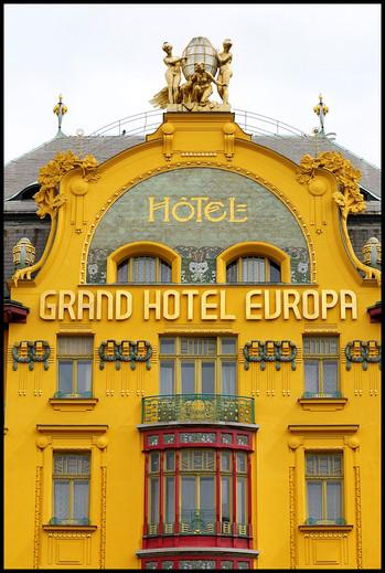 grand hotel europa prague jugendstil art nouveau architecture interesting place listed. Black Bedroom Furniture Sets. Home Design Ideas