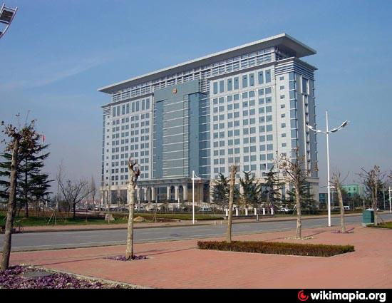 Jiaozhou City Hall Jiaozhou - Jiaozhou city map