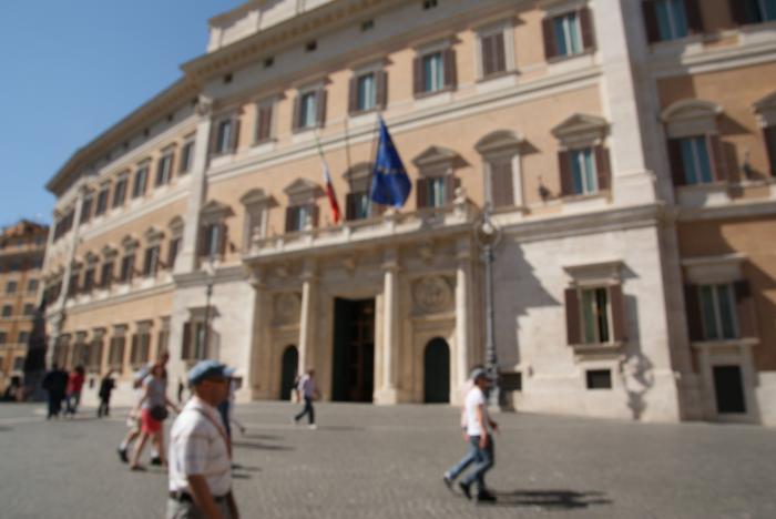 Palazzo di montecitorio camera dei deputati roma for Sede camera dei deputati roma