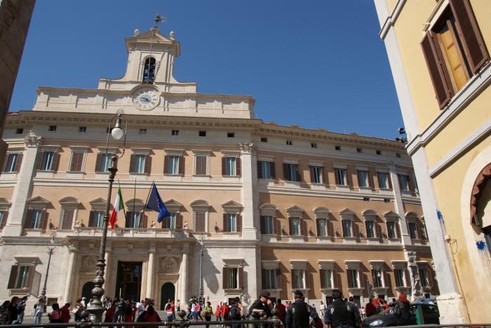 Palazzo di montecitorio camera dei deputati roma for Camera dei deputati palazzo montecitorio