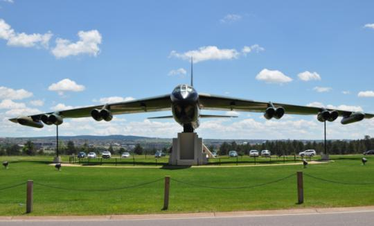 museum   militar...B 52 Shot Down Vietnam War