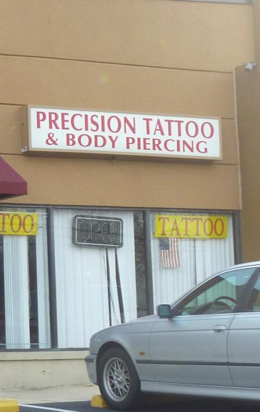 Precision tattoo for Tattoo shops in annapolis